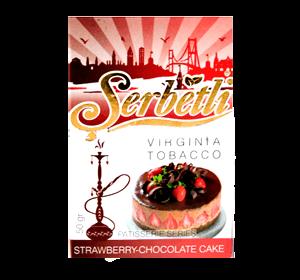 Табак Serbetli Strawberry chocolate cake 50 грамм