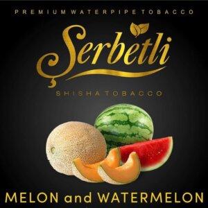 Табак Serbetli Watermelon melon - Арбуз дыня