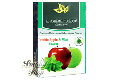 al fakhamah double apple mint