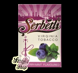 Табак Serbetli - Черника мята