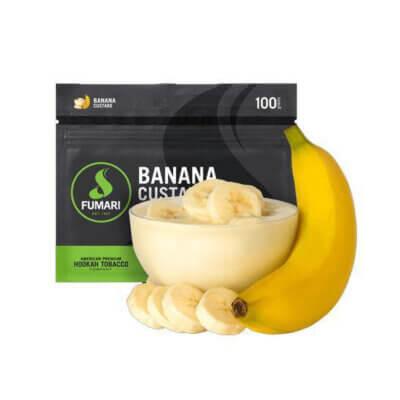 Табак Fumari Banana Custard - Банановый крем