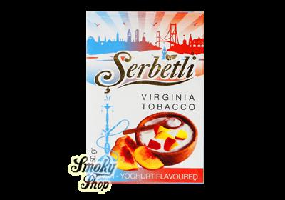 Serbetli peach yogurt