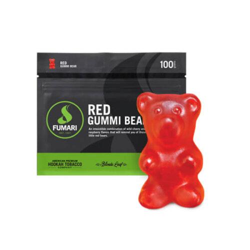 Табак Fumari Red Gummy Bear (Красные мишки гамми)