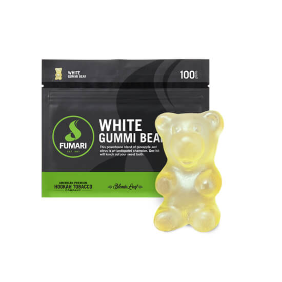 Табак Fumari White Gummy Bear - Белые мишки гамми