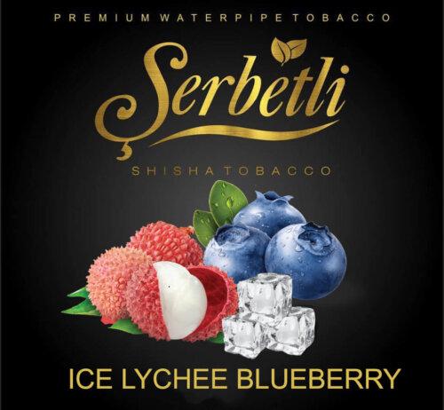 Табак Serbetli Ice Lychee Blueberry