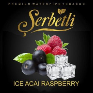 Табак Serbetli ice acai raspberry - айс малина асаи 50 грамм