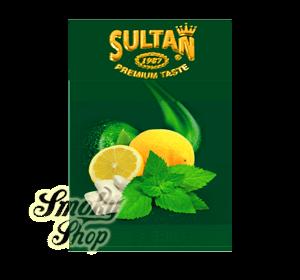 Табак Sultan Жвачка Лимон Мята (Gum Lemon Mint)