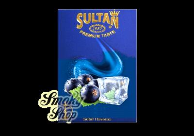 Табак Sultan Айс Смородина (Ice Black Currant)