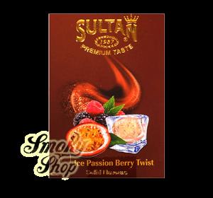 Табак Sultan Айс Маракуйя Ягоды (Ice Passion Berry Twist)