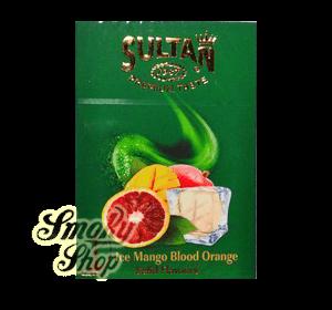 Табак Sultan Айс манго сицилийский апельсин (Ice mango blood orange)