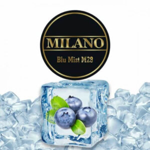 Табак Milano Blue Mist M28 (Черника Виноград Лёд)