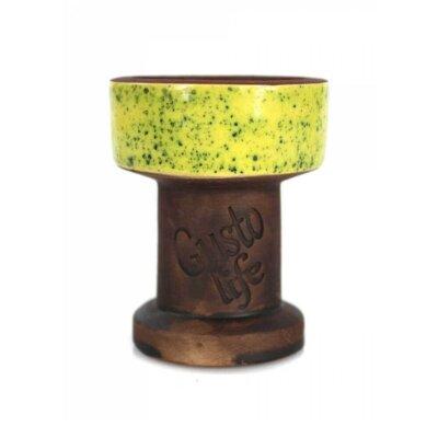Чаша для кальяна Gusto Bowls Exclusive Желтая
