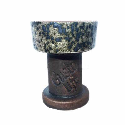 Чаша для кальяна Gusto Bowls Exclusive Серая