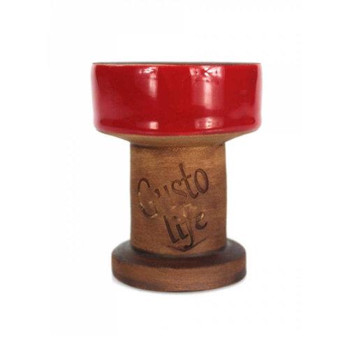 Чаша для кальяна Gusto Bowls Exclusive Красная