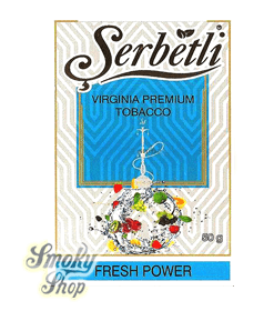 Табак Serbetli Сила свежести (Fresh Power)