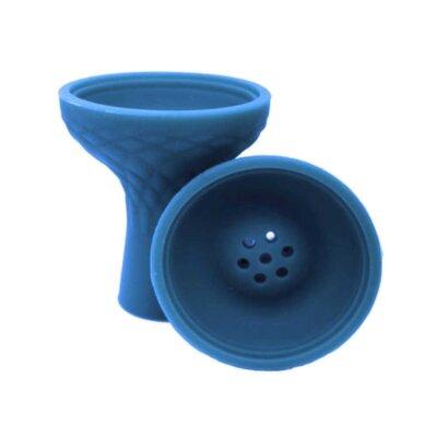 Силиконовая чаша для кальяна Синяя (Blue)