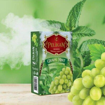 Табак Pelikan Grape Mint