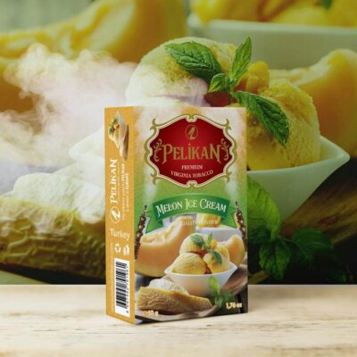 Табак Pelikan Melon ice Cream