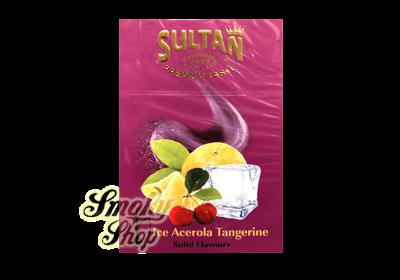 Табак Sultan Ice Acerola Mandarin