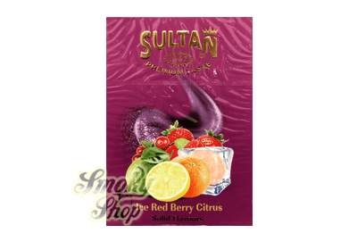 tabak sultan ice red berry citrus