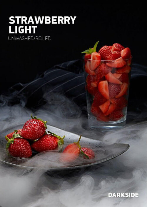 Табак Dark Side Strawberry Light (Core) 100 грамм