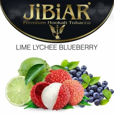 Табак Jibiar Lime Lychee Blueberry