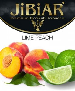 Табак Jibiar Lime Peach (Лайм Персик) – 100 грамм