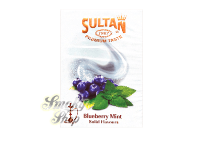 Табак Sultan Blueberry mint