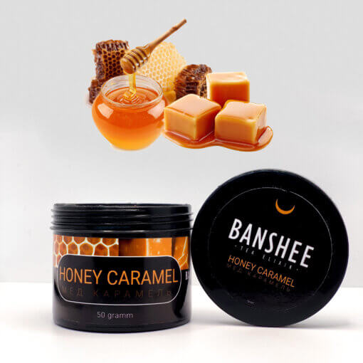Табак Banshee Dark Honey Caramel 50 грамм
