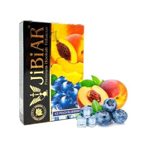 tabak jibiar ice peach blueberry ledyanoj persik chernika 50 gramm