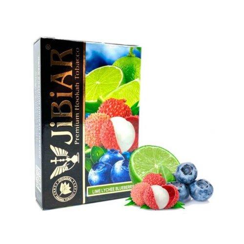 tabak jibiar lime lychee blueberry lajm lichi chernika 50 gramm