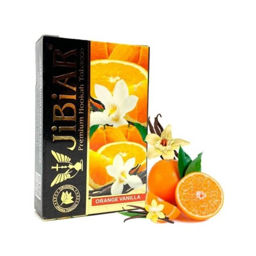 tabak jibiar orange vanilla apelsin vanil 50 gramm