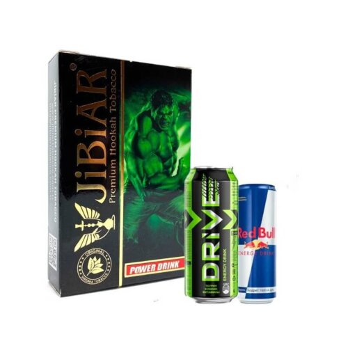 tabak jibiar power drink energetik 50 gramm
