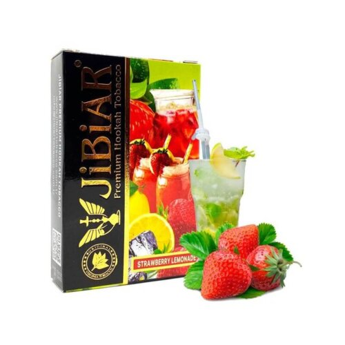 tabak jibiar strawberry lemonade klubnichnyj limonad 50 gramm