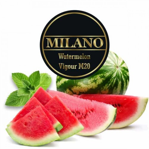 Табак Milano Watermelon Vigour M20 (Арбуз Мята)