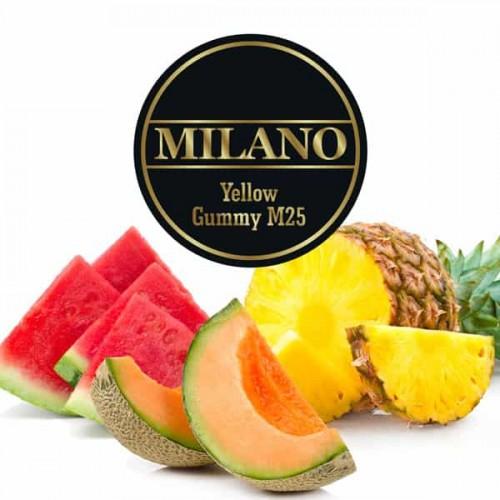 tabak milano yellow gummy m25
