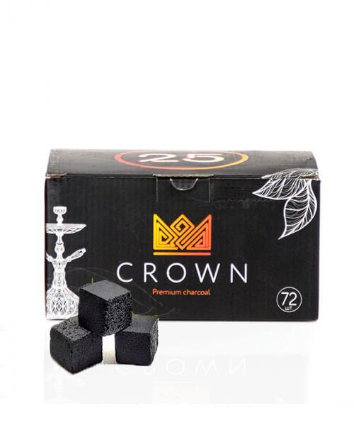 Кокосовый уголь Crown (72 шт)
