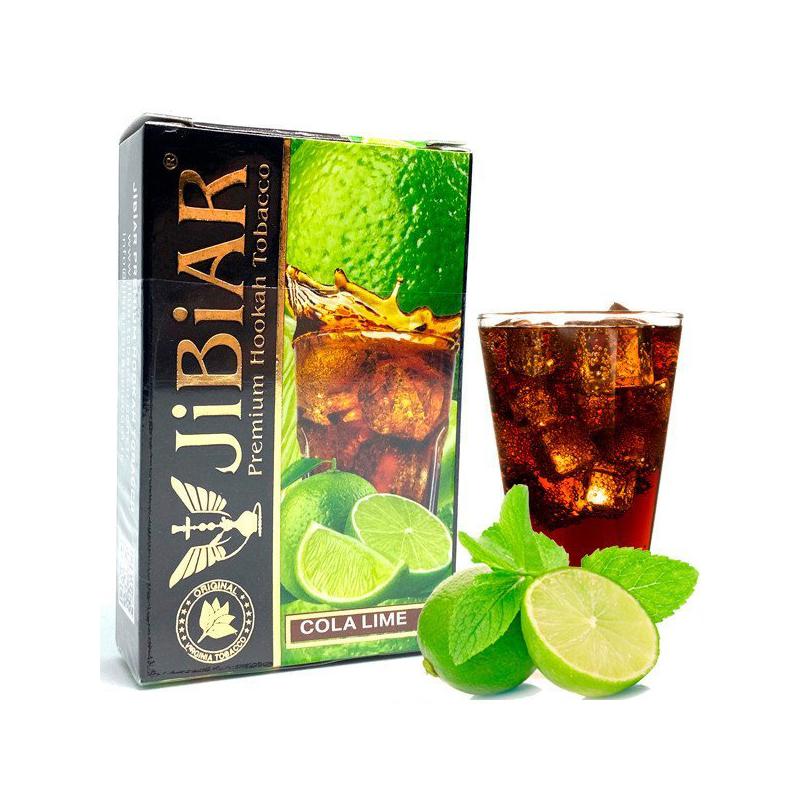 Табак Jibiar Cola Lime (Кола Лайм) – 50 грамм
