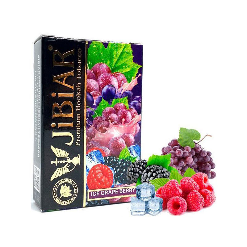 Табак Jibiar Ice Grape Berry (Айс Виноград Ягода) – 50 грамм