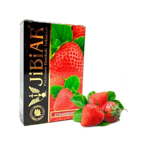 tabak jibiar klubnika strawberry 50 gramm