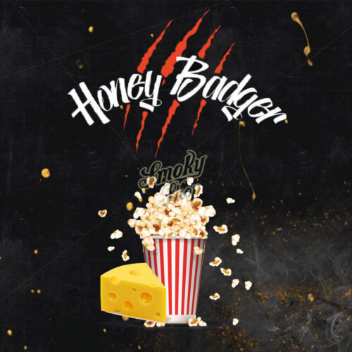 Табак Honey Badger Сырный попкорн