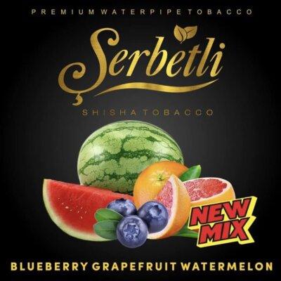 Табак Serbetli Blueberry Grapefruit Watermelon