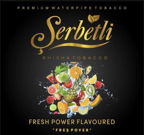 Табак Serbetli Fresh Power