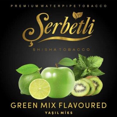 Табак Serbetli Green Mix