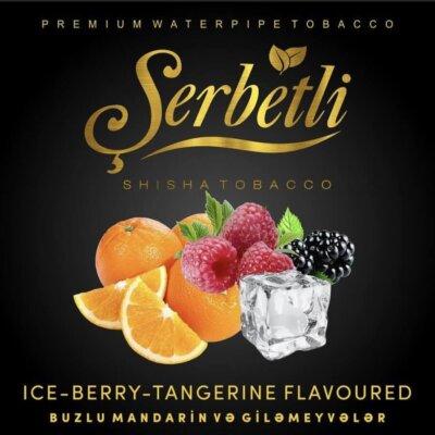 Табак Serbetli Ice Berry Tangerine