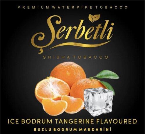Табак Serbetli Ice Bodrum Tangerine (Айс мандарин) 50 грамм