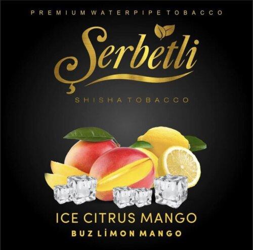 Табак Serbetli Ice citrus mango - Айс цитрус манго