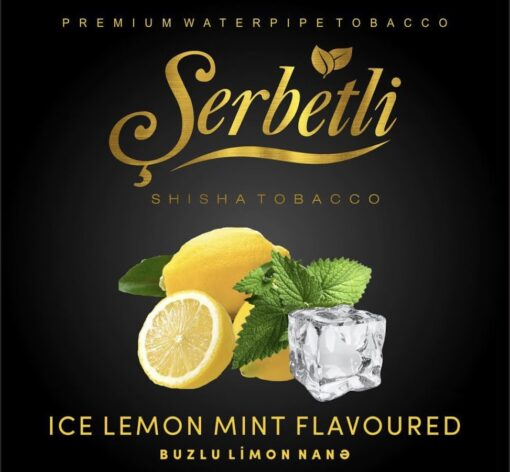 serbetli ice lemon mint