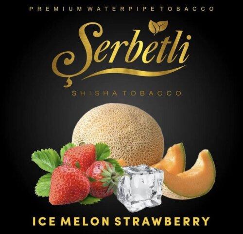 Табак Serbetli Ice Melon Strawberry