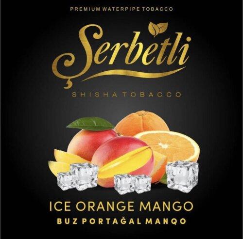 Табак Serbetli Ice Orange mango